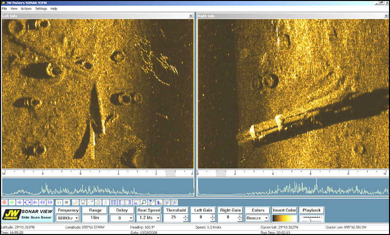 side scan sonar